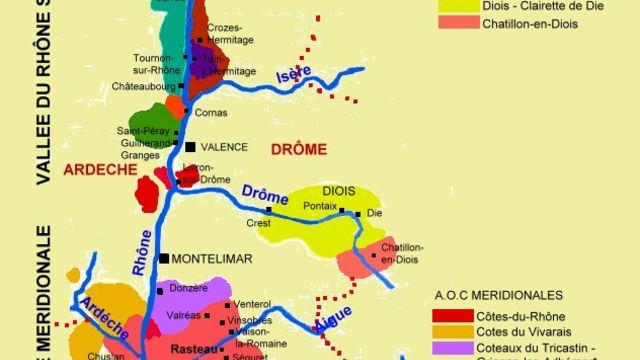 Découverte du vignoble de la vallée du rhône