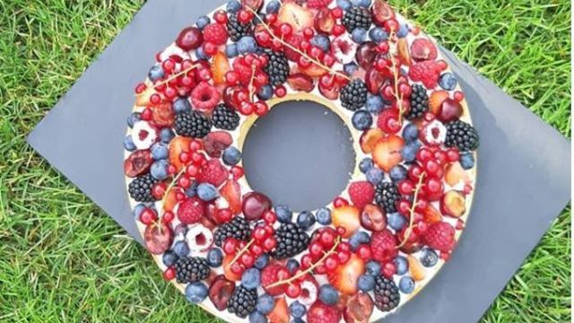 tarte couronne fruits rouges