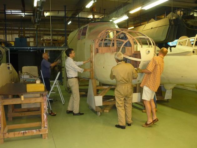 Restauration d'avions anciens