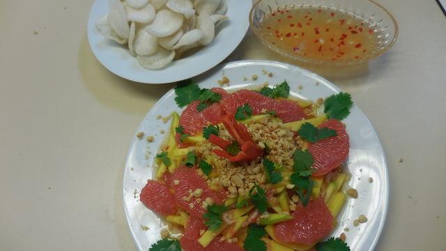 Atelier de salade Vietnamien