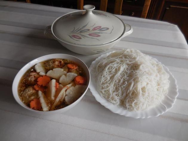 Barbecue Vietnamien Bun Cha