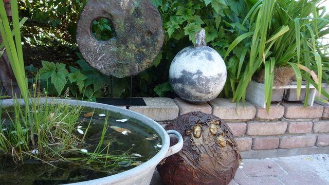 Les sphères décorées de Powertex