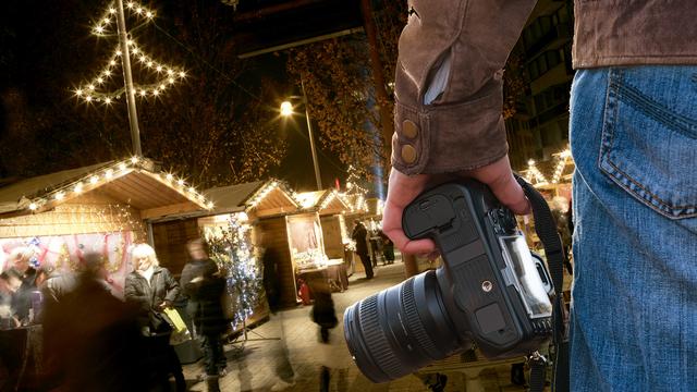 Atelier Street photo spécial Noël