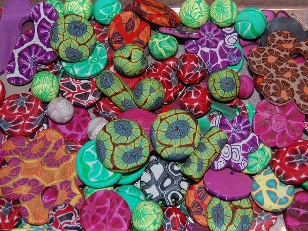 Poly-perlies, création bijoux polymère(fimo)
