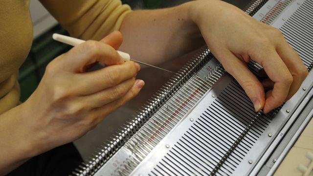 Tricot machine manuelle /// Atelier Découverte