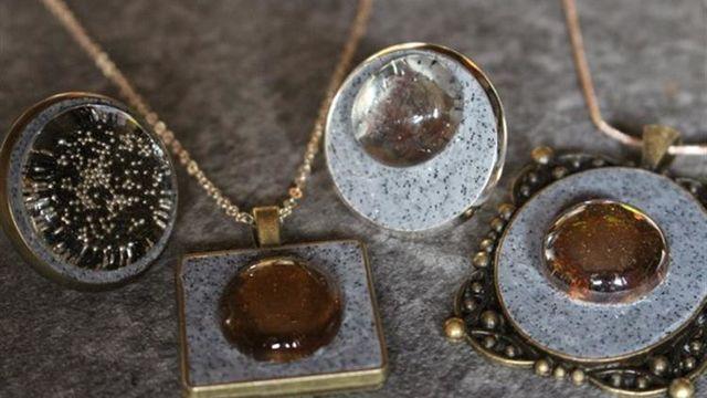 """3 bijoux  """"cabochons"""""""
