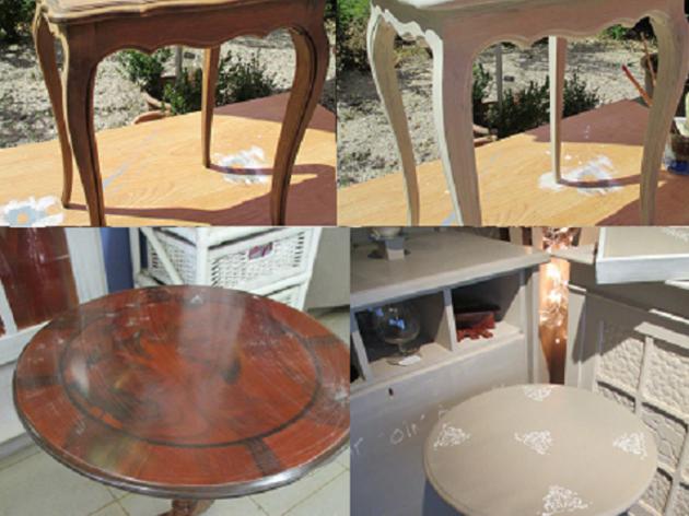 Relooking petit meuble atelier restauration et - Relooking petit meuble ...