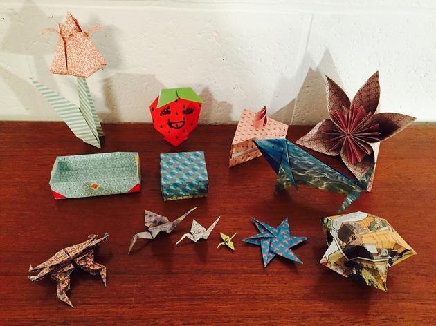 origami facile et amusant enfants 7 15 ans atelier livre et papier par alexandra. Black Bedroom Furniture Sets. Home Design Ideas