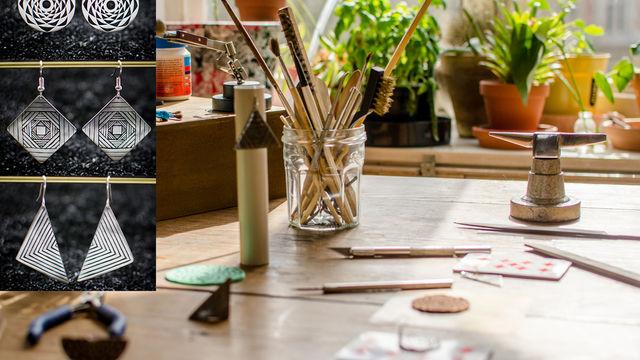 Faite une création originale en acier, Bijoux/sculpture