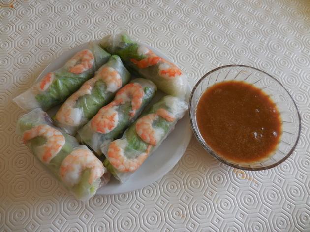 Goi cuon (Rouleaux de salade )