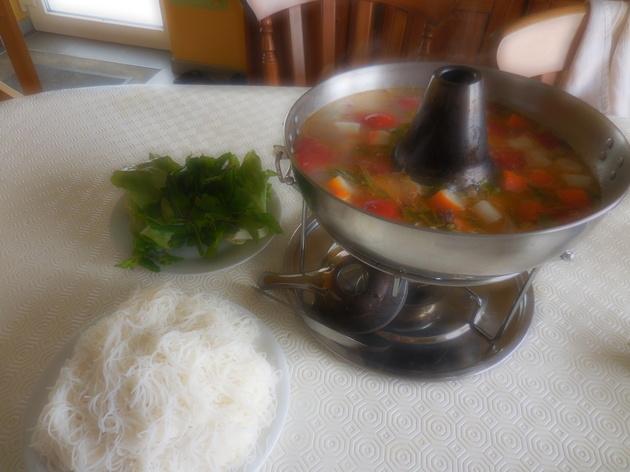 Canh chua soupe de poisson et tomates atelier cuisine - Cuisine soupe de poisson ...