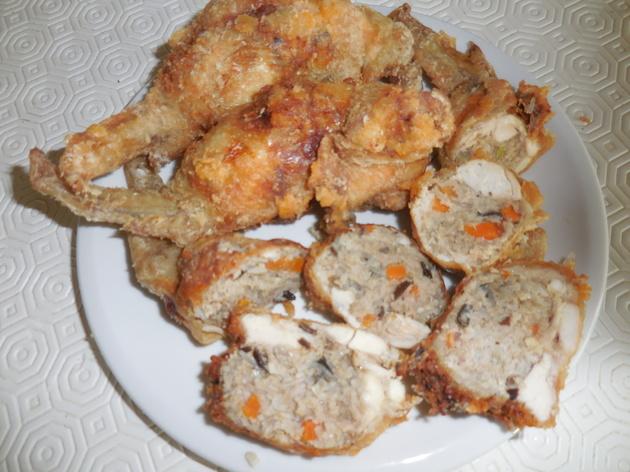 Ailes de poulet farcies