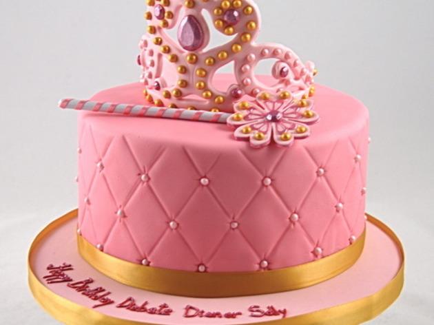 Passion atelier cake design venez apprendre d corer un magnifique g teau de princesse - Couronne princesse a decorer ...