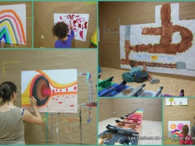 les samedis matin au jeu de peindre cycle 25 ateliers formation peinture par c line courtoy. Black Bedroom Furniture Sets. Home Design Ideas