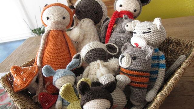 Création d'amigurumi au crochet