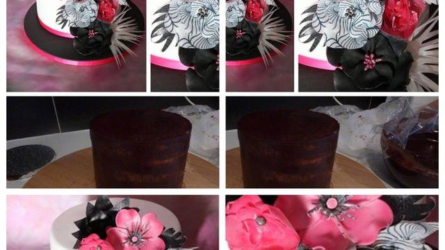 Atelier Cake Design Nice : Atelier cake design : faire un gateau avec de la pate a sucre