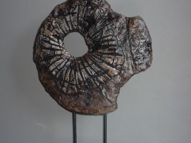 deco powertex effet bois br l atelier sculpture et poterie par chantal. Black Bedroom Furniture Sets. Home Design Ideas