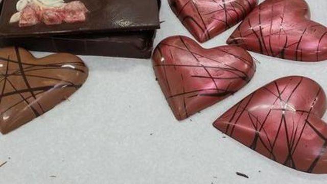 Atelier chocolaterie spécial Saint Valentin / ADULTES