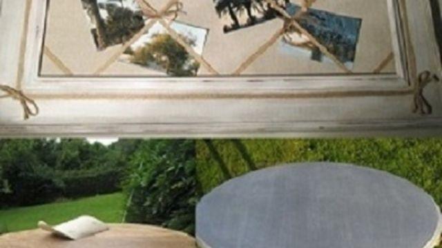 Atelier Patine-relooking petit meuble /cadre ancien