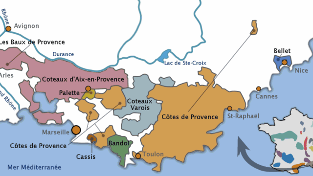 Découverte du vignoble Provence Corse