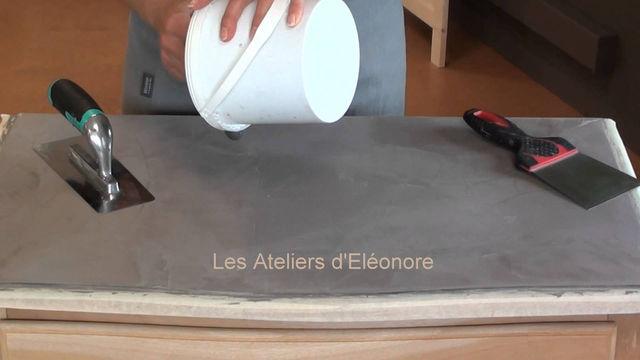 Les Ateliers d'Eléonore - le Béton Ciré