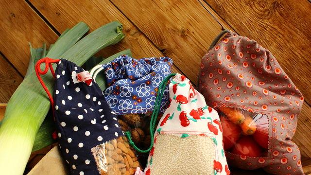 cours de couture pour débutant: le sac à vrac