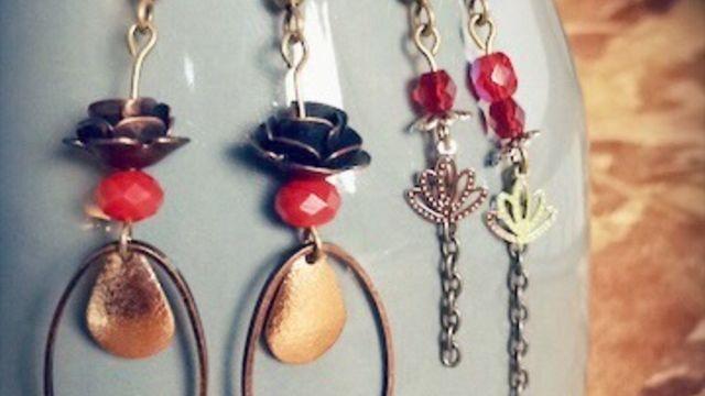 Création de perles, bijoux et accessoires pour l'été !