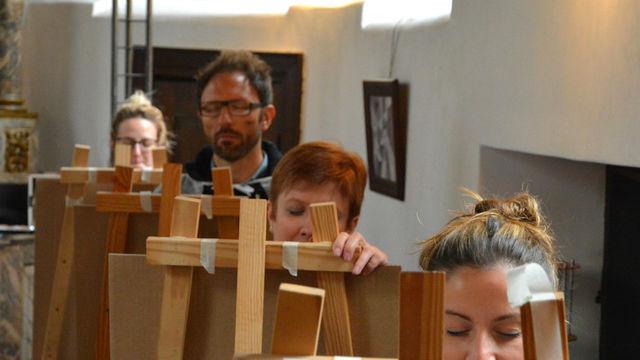 Journée d'initiation artistique : la Peinture Abstraite