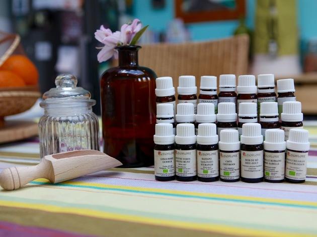 Commencer l'aromathérapie : théorie et mise en pratique