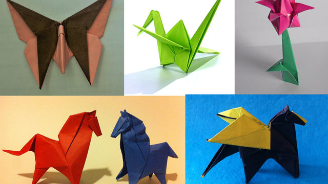 Origami - constructions créatives