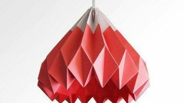 Atelier Lampe en Origami