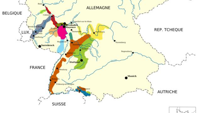 Découverte du vignoble ALLEMAND / Autriche et Suisse