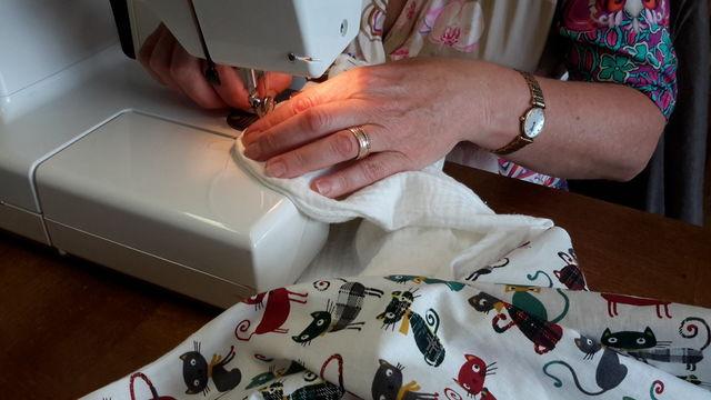 """Atelier """"couture"""" des vacances à la Maison Brodée"""