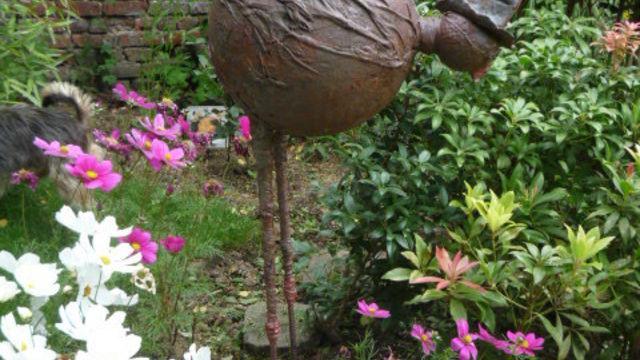 Atelier  Echassier cocasses pour le jardin
