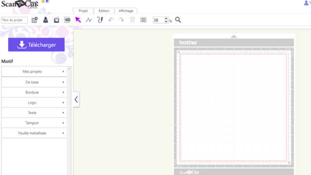 ScanNCut : comprendre et utiliser le logiciel Canvas