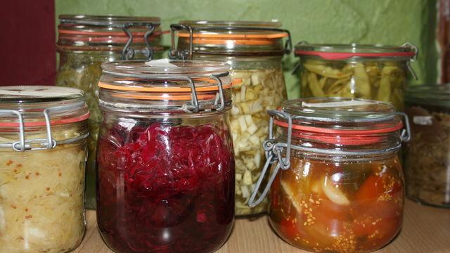 conserver ses légumes par la lactofermentation
