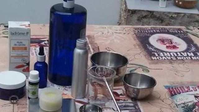 Atelier de fabrication  cosmétiques naturels