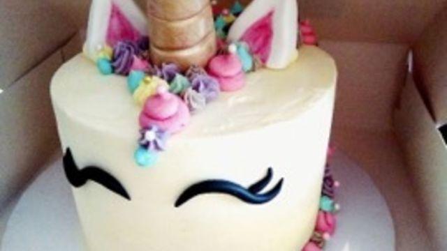 Cake design thème licorne / EN DUO