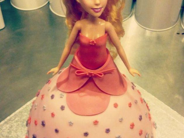 Enfants / Gâteau Barbie pour enfants de 4 à 12 ans